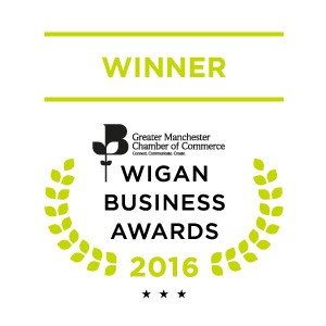 Wigan Business Awards - Finalist Logo