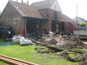 Pumphouse Community Brewery being constructed - Insurance cover from Brewcover UK.