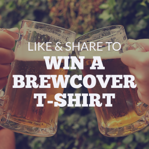 Like and Share our post to win a Brewcover T-shirt today!